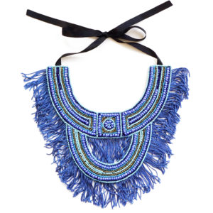 Chella Necklace - bleu bleu bleu